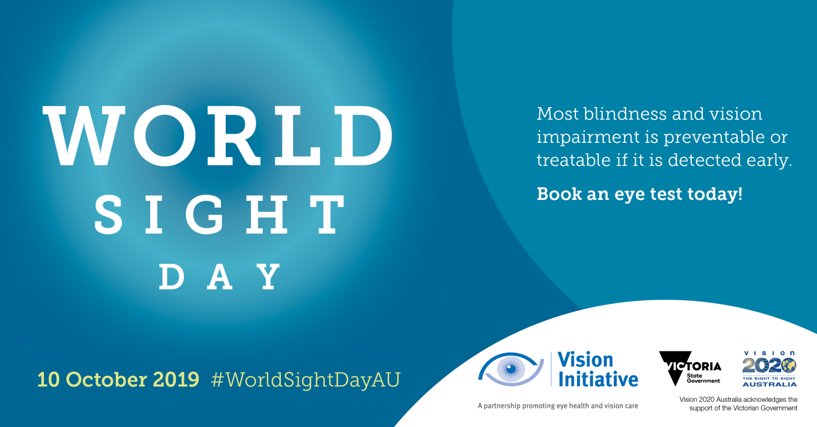 World Sight Day banner