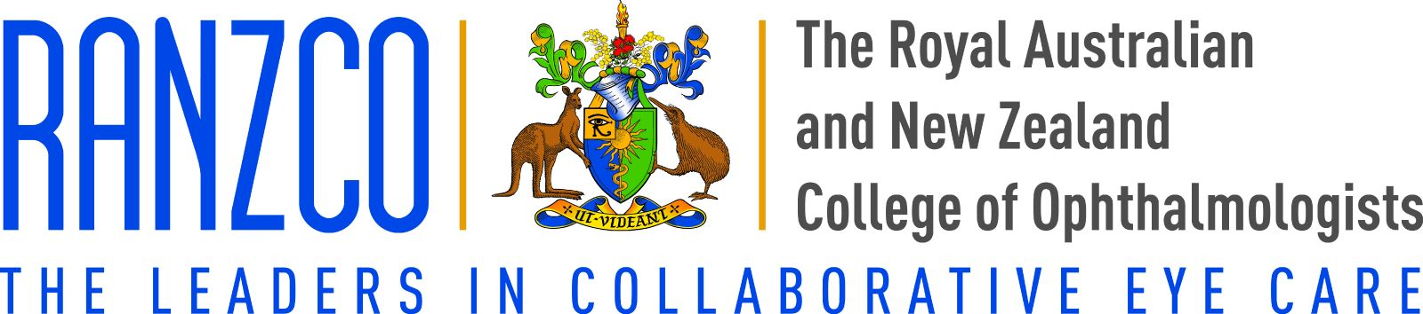 The Royal Australian and New Zealand College of Ophthalmologists logo